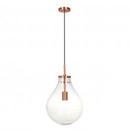 Подвесной светильник Kamo L Clear/Copper