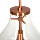Підвісний світильник Kamo L Clear / Copper