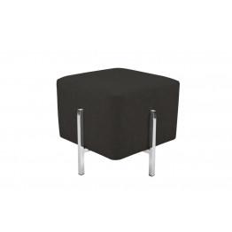 Пуф-стілець Dik TDM100 Black / Silver