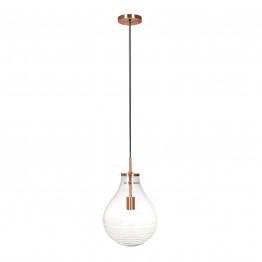 Підвісний світильник Kamo S Clear / Copper