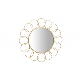Настенное зеркало Gera SM110 Gold