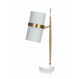 Настільна лампа Novus White / Gold