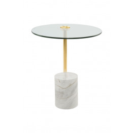Стол Betty SKM525 Gold/White