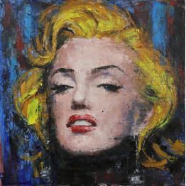 Картина маслом Monroe
