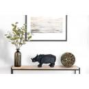 Скульптура Rhinoceros K110 Black