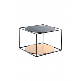 Стіл Cube SM110 Brown / Black / Black