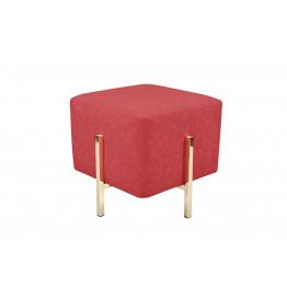 Пуф-стул Dik TDM100 Red/Gold