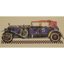 Картина Retro car 50х100 cm