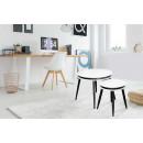 Набір столів Peel D110/2 White/Black