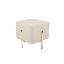 Пуф-стілець Dik TDM200 Cream / Gold