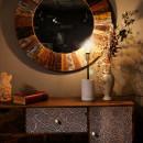 Настільна лампа Pit MK287 White/Brass/Black