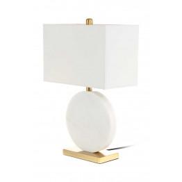Настільна лампа Diva MK125 White/Gold/White