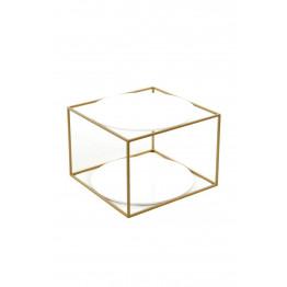 Стіл Cube SM110 White / Gold