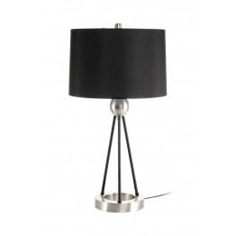Настольная лампа Nona M125 Black/Silver