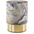 Пуф Caramel T325 Lightblue/Gold