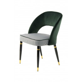 Стул Dely TM525/2 Green/Gold
