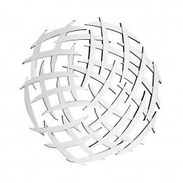 Настінне дзеркало Grid SM810 Silver