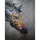 Фреска металева Zebra