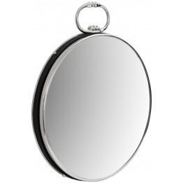 Настінне дзеркало Round 425 Silver/Black 51 cm