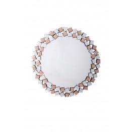 Настінне дзеркало Laguna S1825 Silver/Pink
