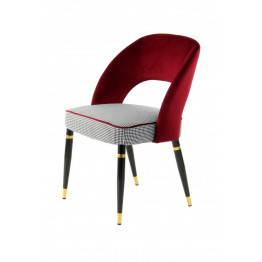Стул Dely TM525/2 Red/Gold