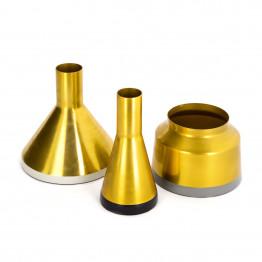 Набор ваз Tripsi M160/3 Gold/White/Black/Grey