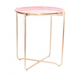 Стіл Elsa M610 Pink/Copper