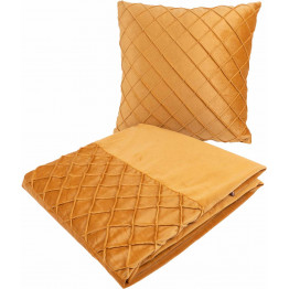 Набір подушка і плед Paulina 325 Yellow