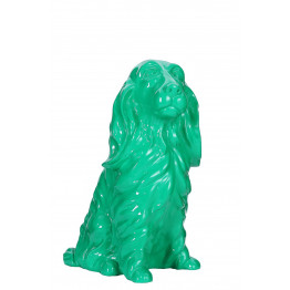 Скульптура Dog Green 33cm
