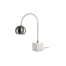 Настільна лампа Eva MK125 White/Silver