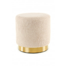 Пуф Soft T425 Ivory/Gold