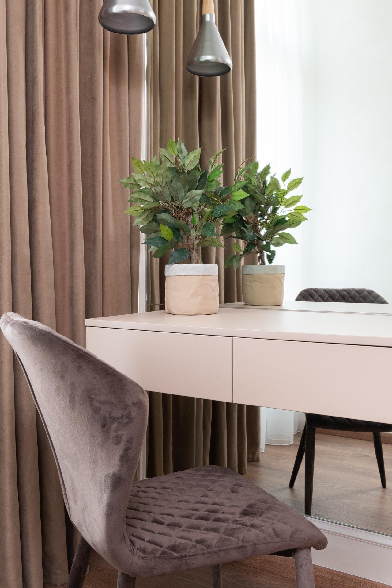 Пастельні тони для спальні в стилі мінімалізм