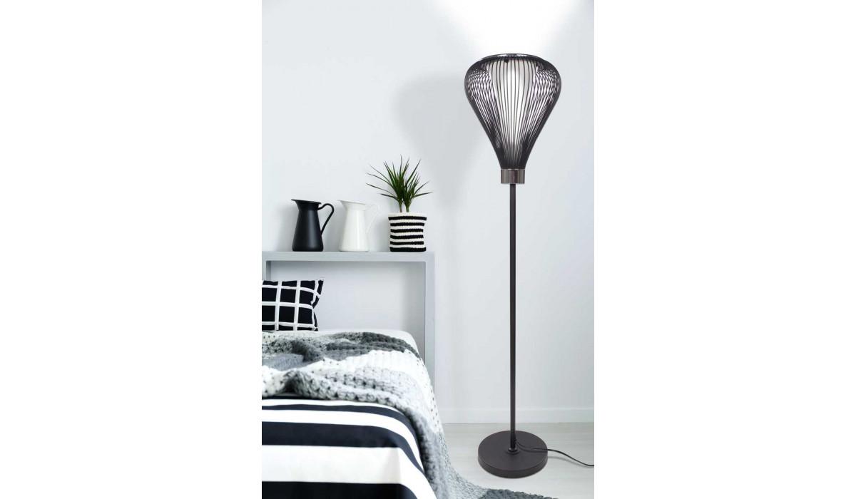 Підлогова лампа Expo M820 Black для спальні в стилі мінімалізм