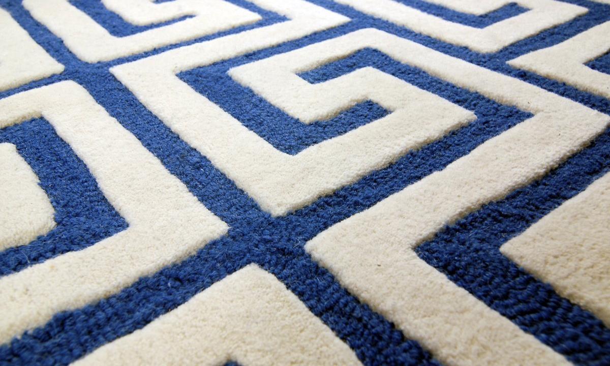 Дизайнерські модні килими кат-луп